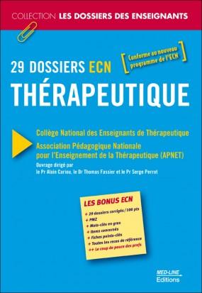29 DOSSIERS ECN Thérapeutique