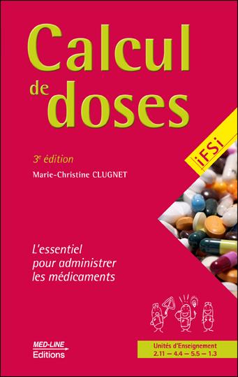 Calcul de doses. 3e édition