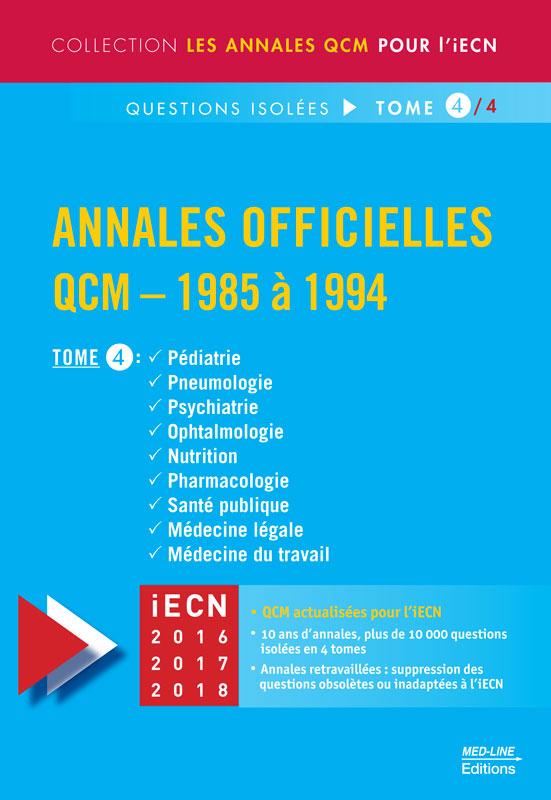 Annales officielles – TOME 4