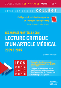 Annales LCA – 3e édition actualisée
