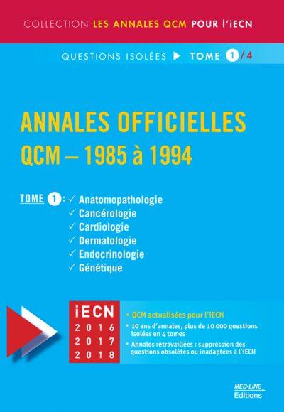 Annales Officielles – TOME 1