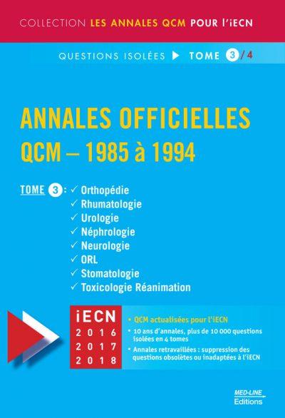 Annales officielles – TOME 3