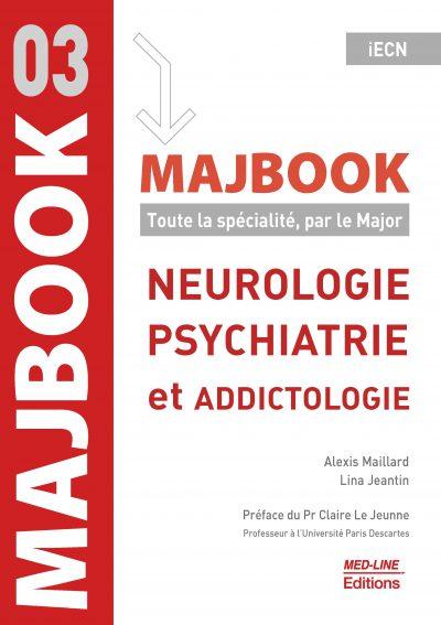 MAJBOOK – Neurologie, psychiatrie et addictologie