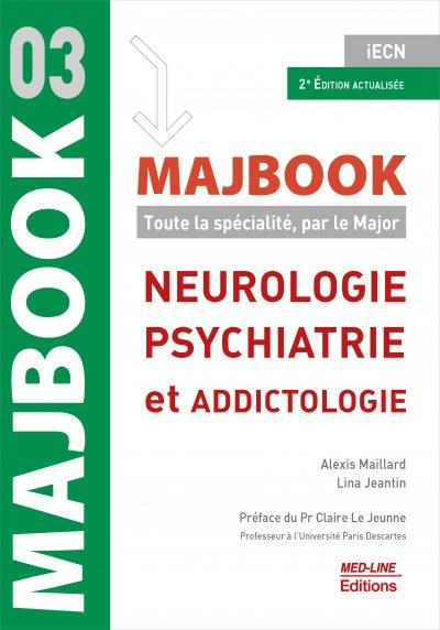MAJBOOK – Neurologie, psychiatrie et addictologie – 2ème édition actualisée