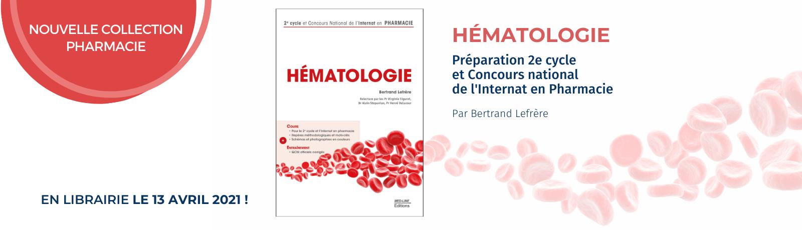 Nouveau Livre Hématologie
