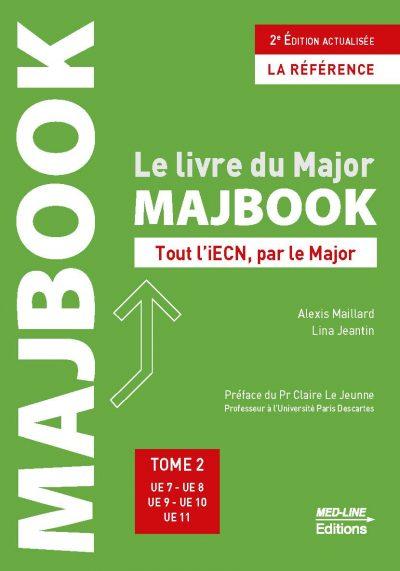MAJBOOK 2ème édition actualisée – TOME 2 – UE 7 à 11